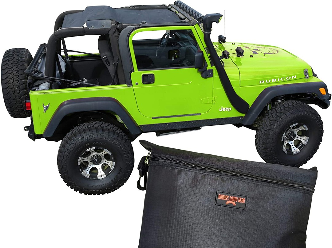 Badass Moto Jeep Wrangler TJ Mesh Sun Shade Top Cover