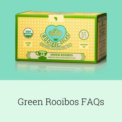 Green Rooibos FAQs