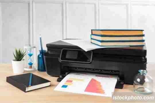 masalah pada printer, kertas macet