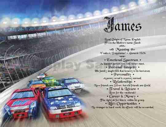 Stock Car Racing Gift