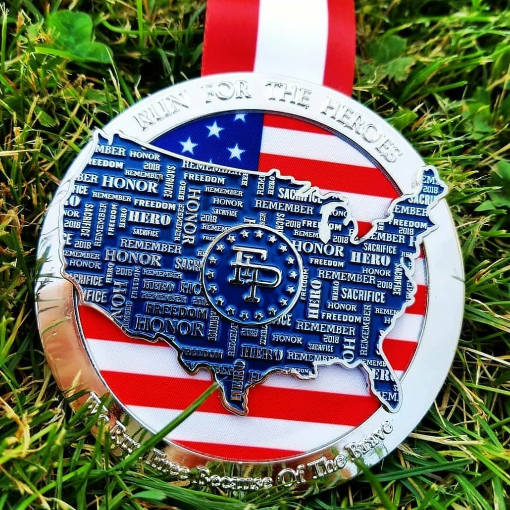 Run for the Heroes Medal Only