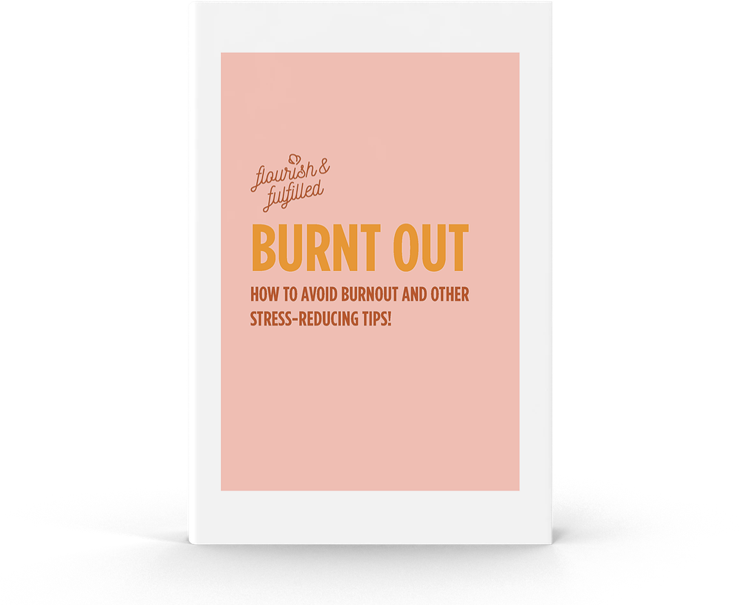 Flourish & Fulfilled Burnt Out Free eBook Sophie Guidolin