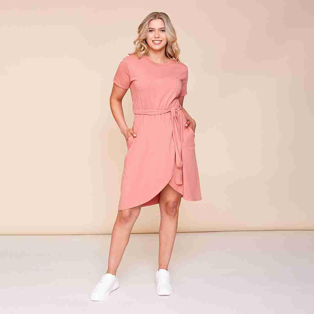 Peyton Dress(Dusty Rose)