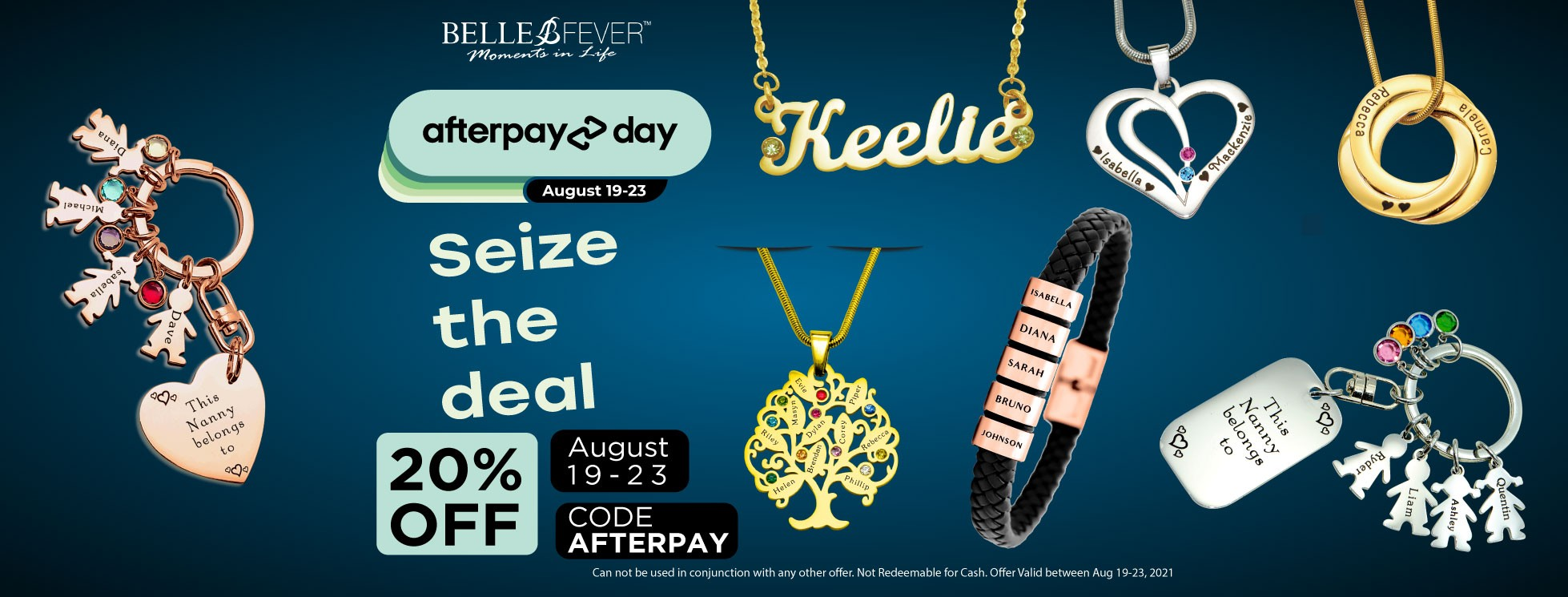 Belle Fever Afterpay Day sale