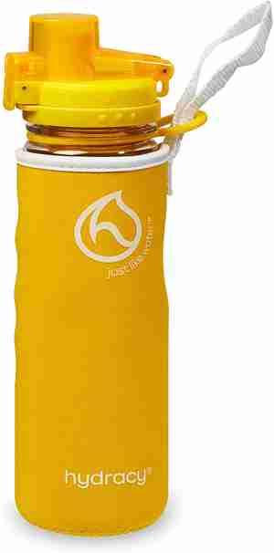 Infuser Water Bottle 25oz - Sunny Yellow - Sleeve
