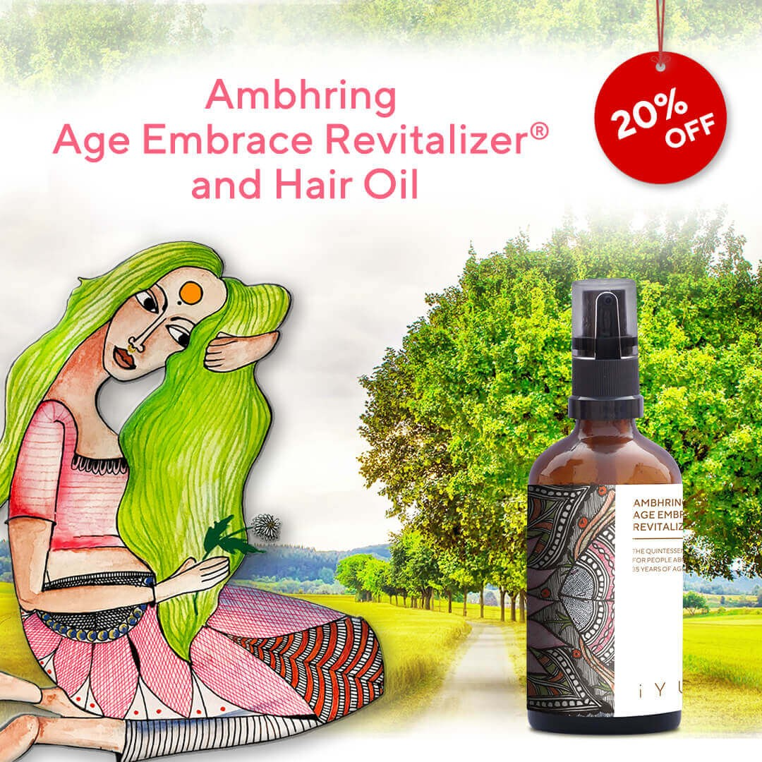 Ambhring Age Embrace Revitalizer and Hair Oil