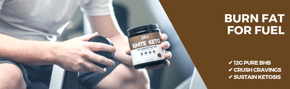 ignite keto bhb exogenous ketones increase ketones burn fat for fuel