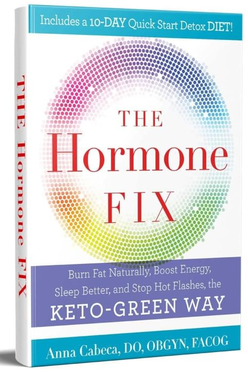 The Hormone Fix Book by Dr. Anna Cabeca