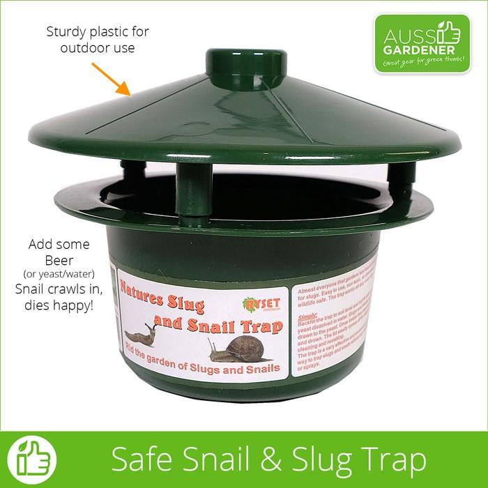 Aussie Gardener Snail and Slug Trap - Organic Pest Control