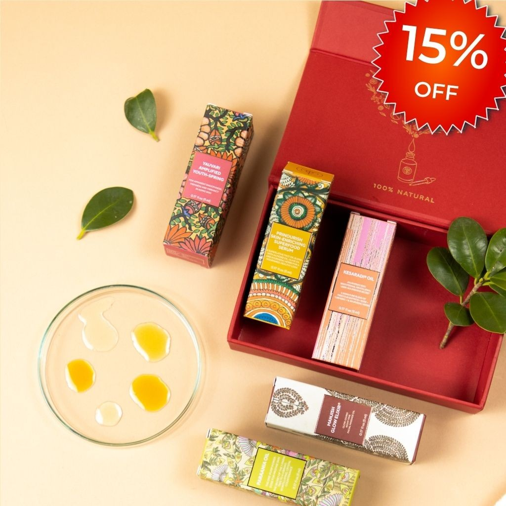 The Real Face of Beauty – 5 Ayurvedic Face Oil Minis