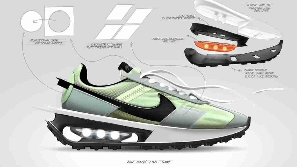 Nike Air Max Pre-Day Rendering
