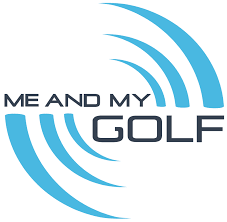 picture shows logo of Me and my golf which has reviewed and recommended GForce 7iron and gforce wedge in 2021