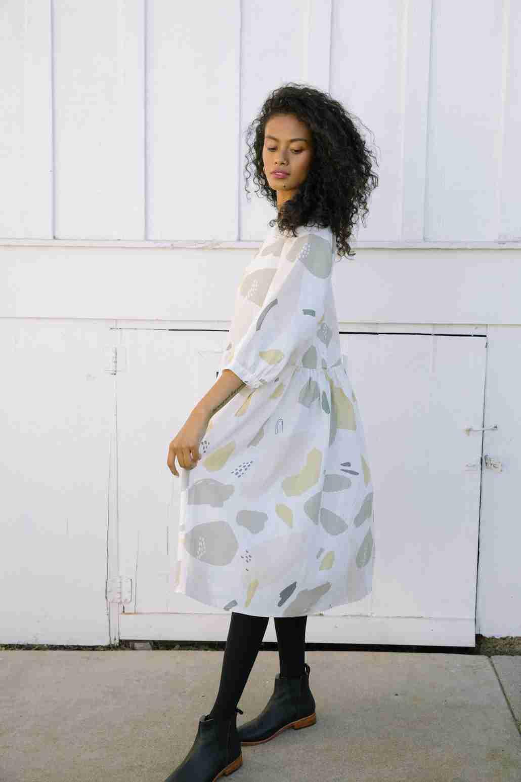 Nova Midi Dress Caroline Print