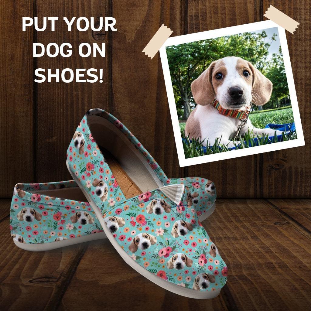 Custom dog shoes