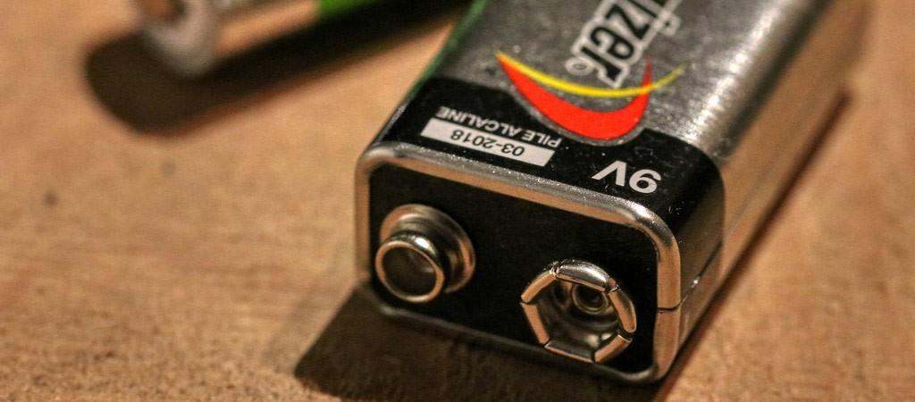 Energizer 9V battery
