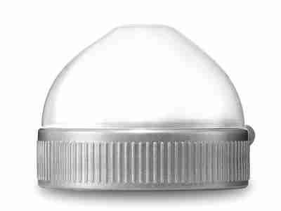 Plastic ring and cap