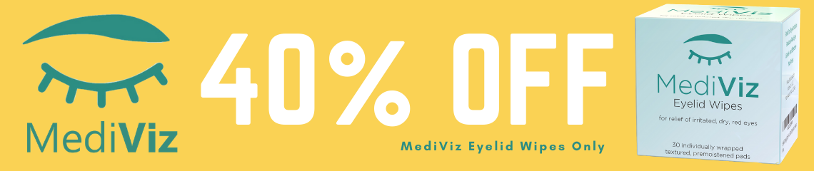 MediViz Eyelid Wipes