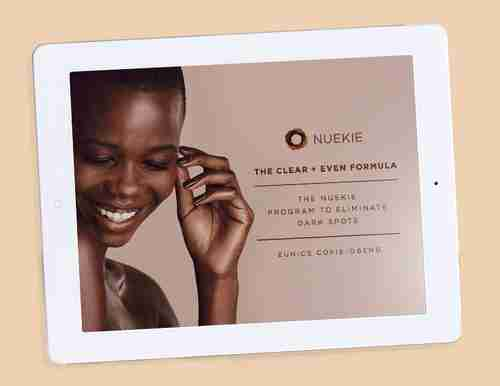 The Clear and Even Formula: The Nuekie Program to Eliminate Dark Spots