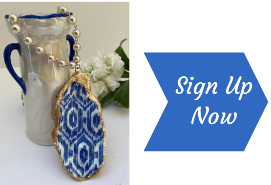Sign up now for drawing of free necklace