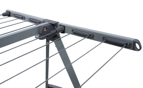 galvanised steel portable clothes airer hills 170