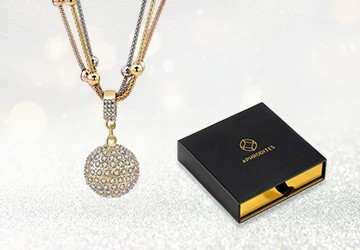 gold-ball-necklace-with-rhinestone-pendant