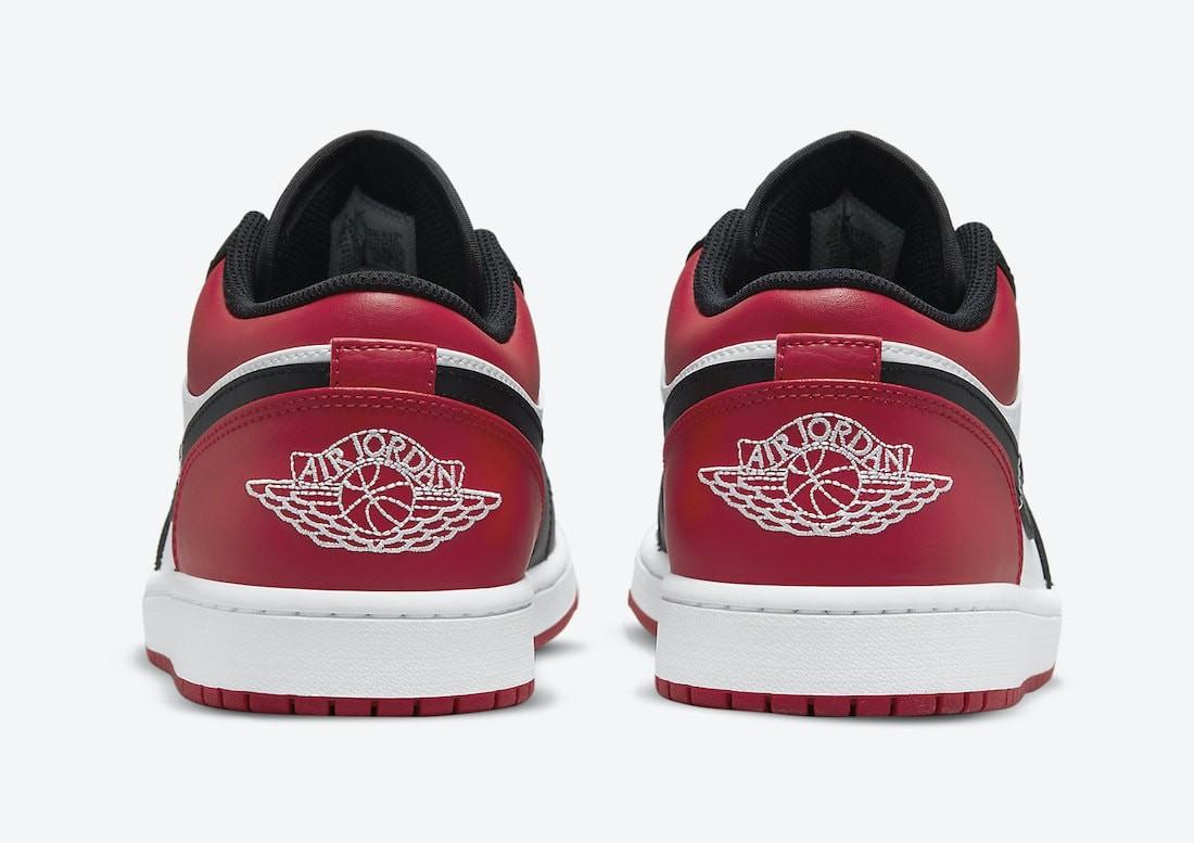 Jordan 1 Low Bred Toe