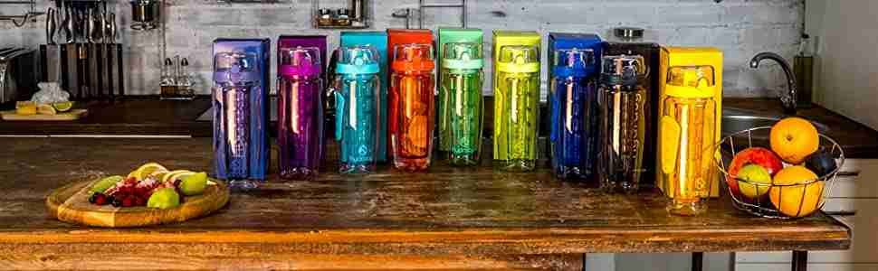 Infuser Water Bottles Collection