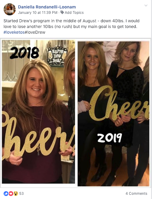 Daniella Keto Journey