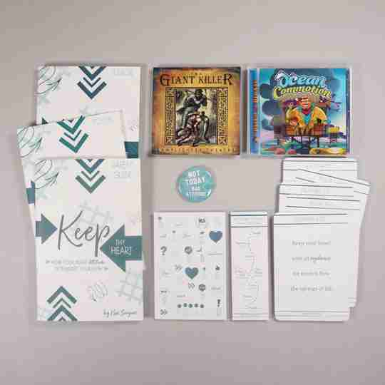 Keep thy heart family Bible study bundle