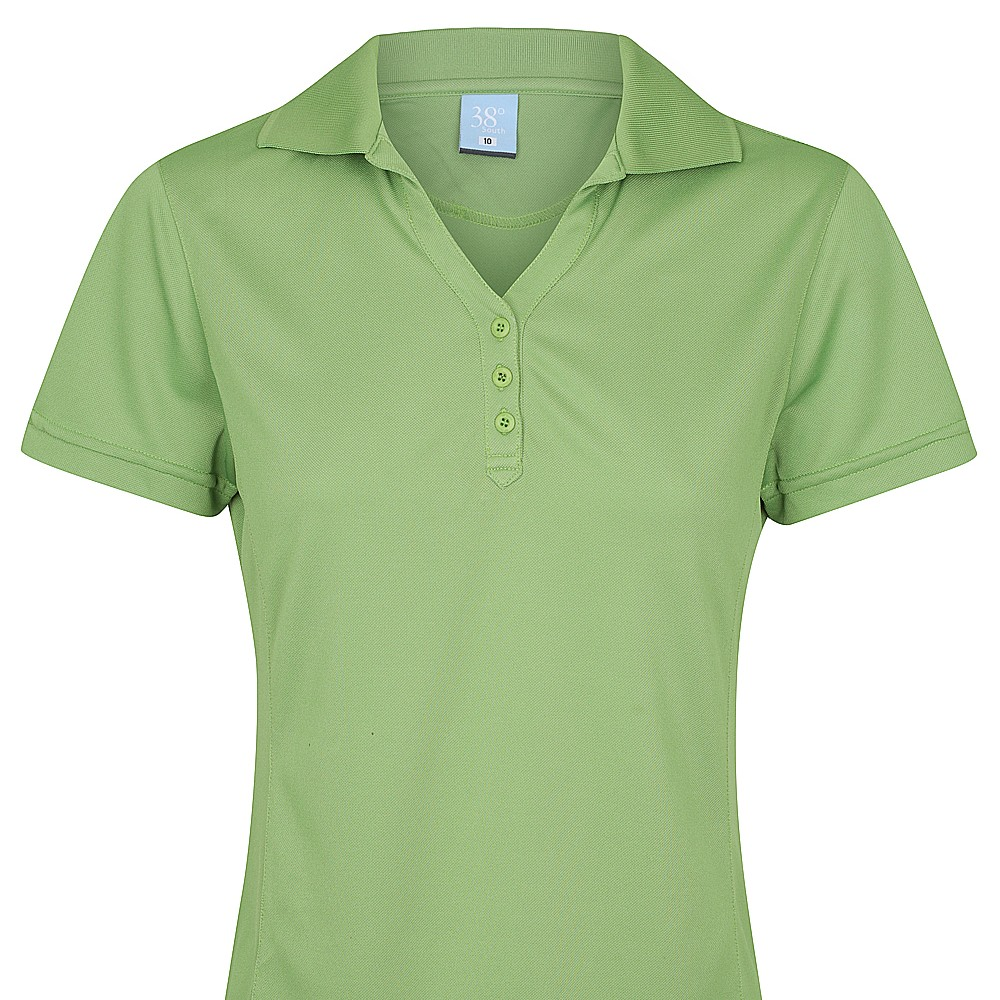 38 South Polo - Ladies Cooldry Light Solid