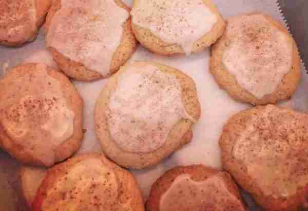 Taylor Swift's Yummy Chai Tea Eggnog Cookies