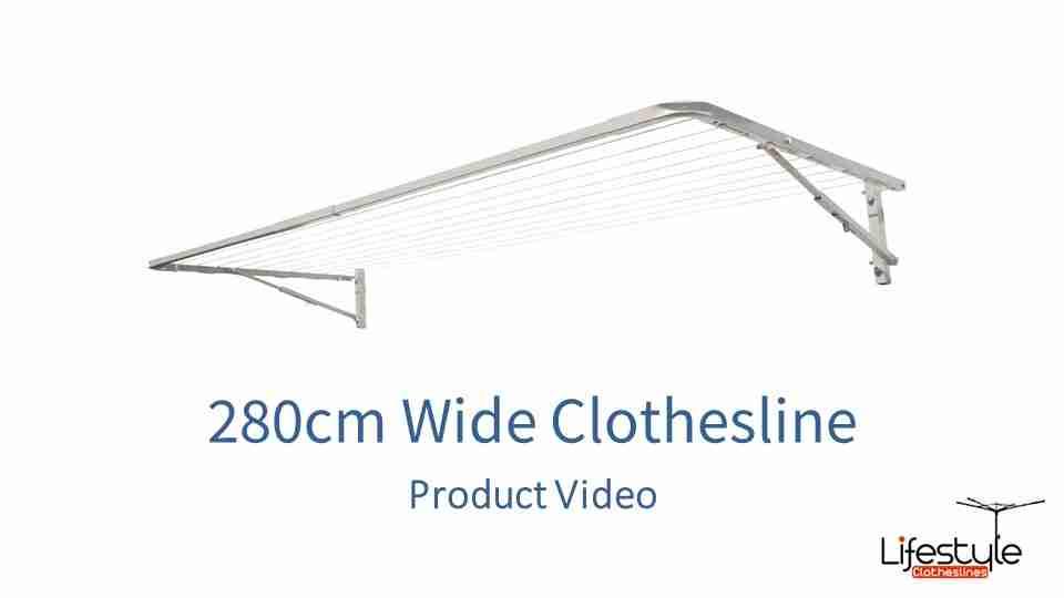 280cm wide clothesline product link
