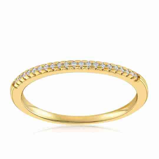 The Blush and Bar Brianna Bezel Ring