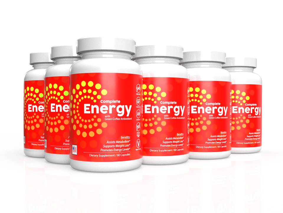 6-Pack: Complete Energy Formula with Green Coffee Antioxidant
