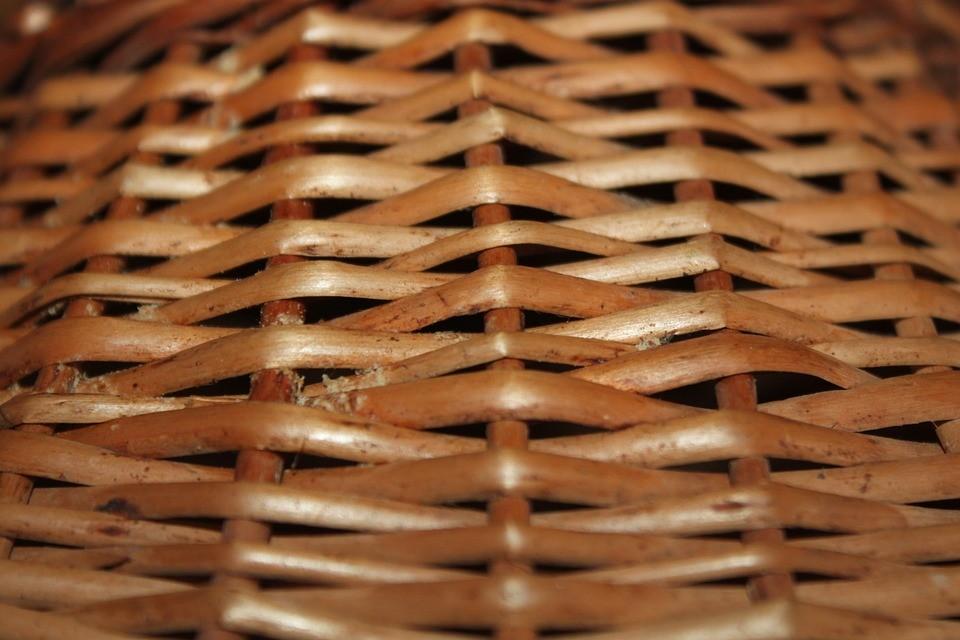 bamboo laundry basket