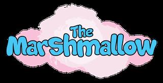 The Marshmallow Australian winter blanket hoodie logo