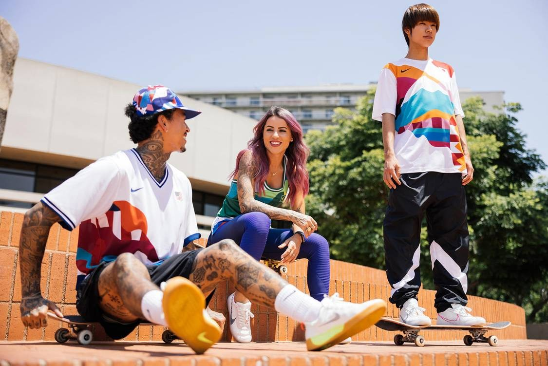 Nike SB Tokyo Olympics Kits By Parra