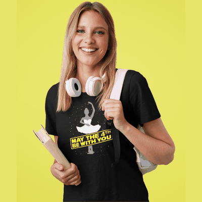May the 4th Be With You Ballerina T-Shirt