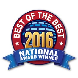 2016 National award winner