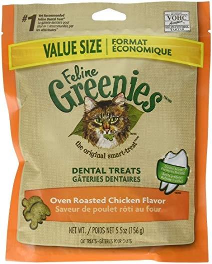 Feeline Greenies Dental Treats