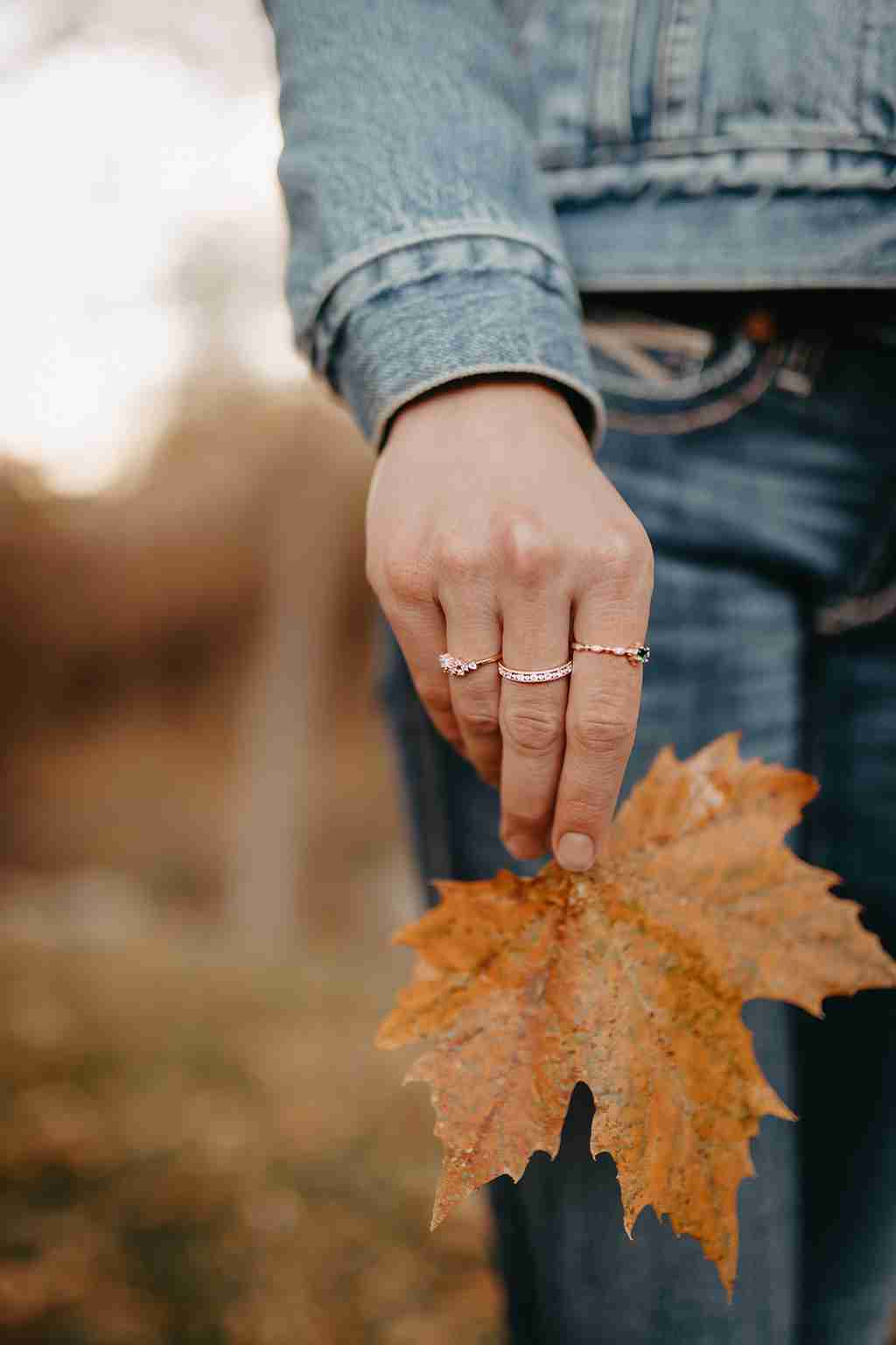 Fall Jewelry - Joyce Layered Stack Ring