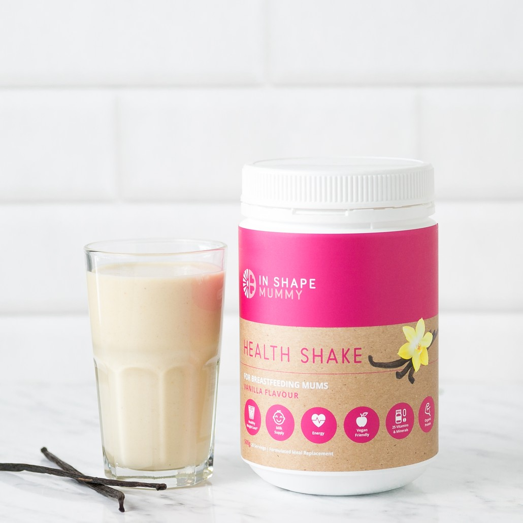 In Shape Mummy Breastfeeding Shake - Vanilla Afterpay