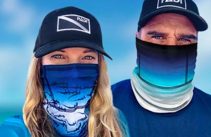 Recycled Shark Masks