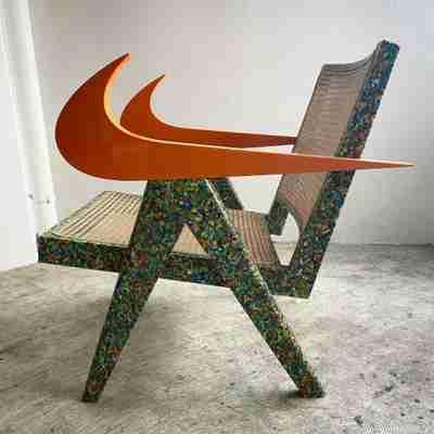 READYMADE Nike Swoosh Chair