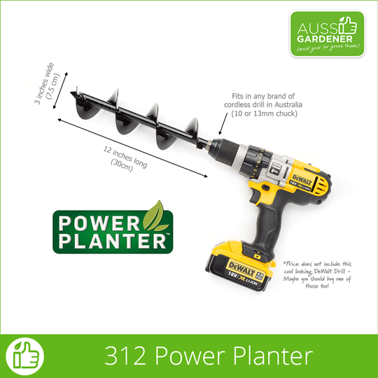 The Easy way to dig your garden is with the Power Planter.
