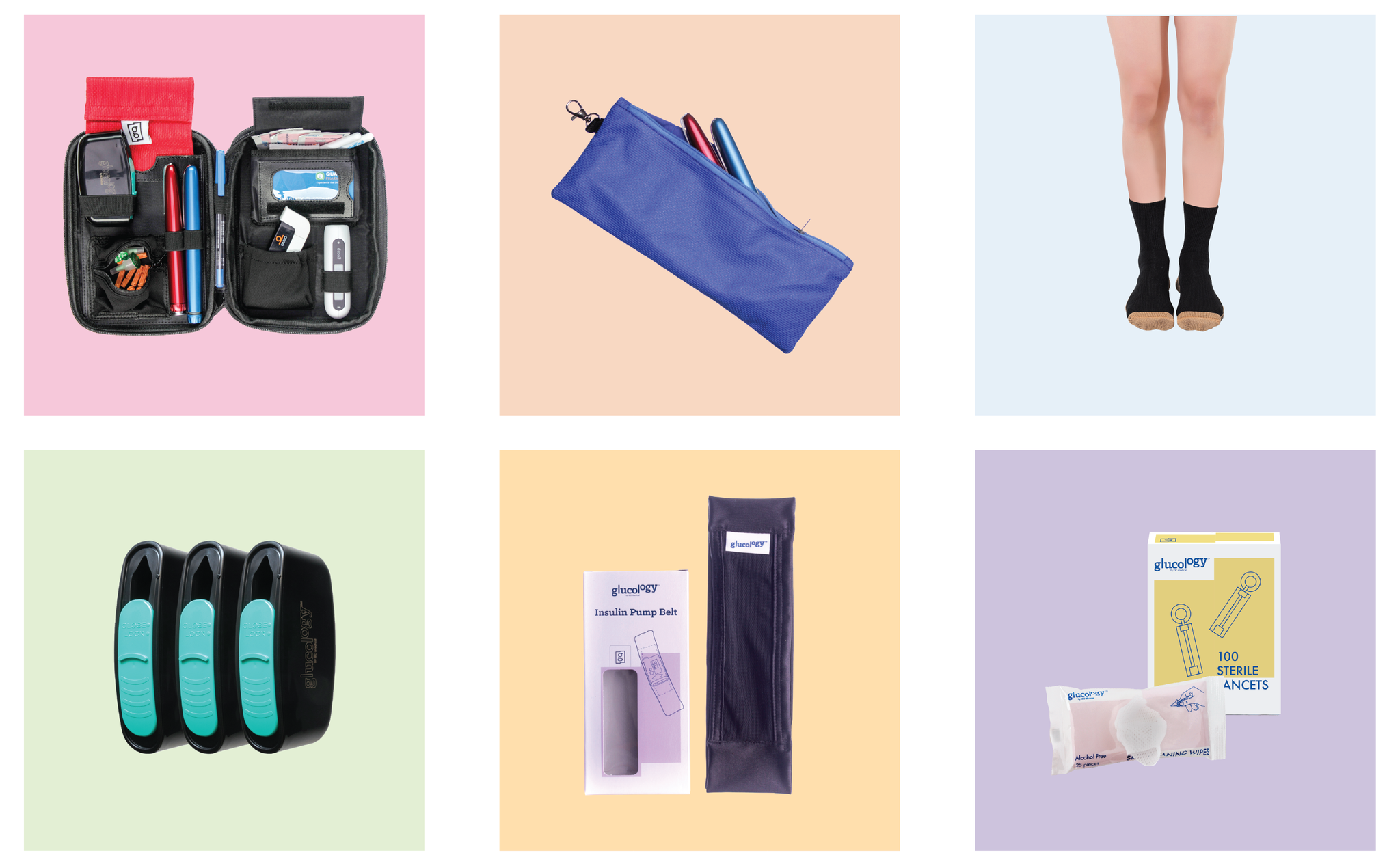 Diabetes support products accessories