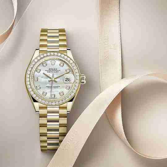 A Rolex women's watch