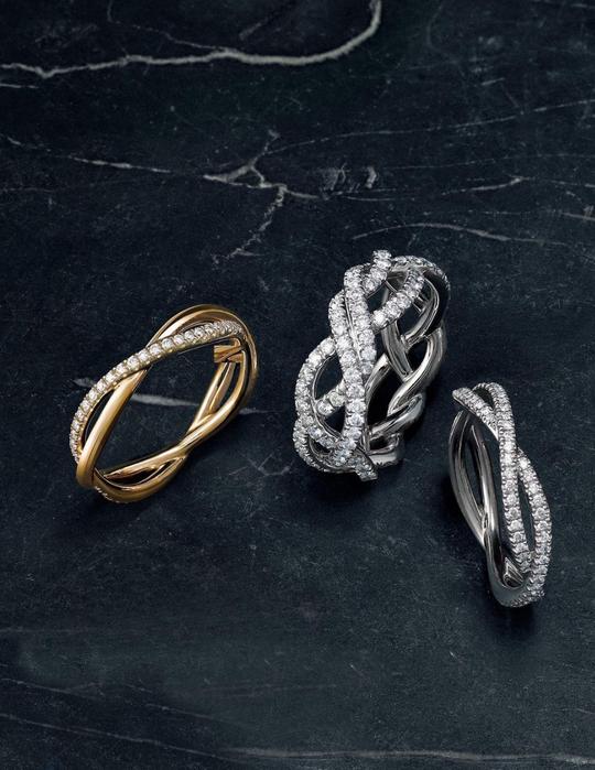 Braided David Yurman rings