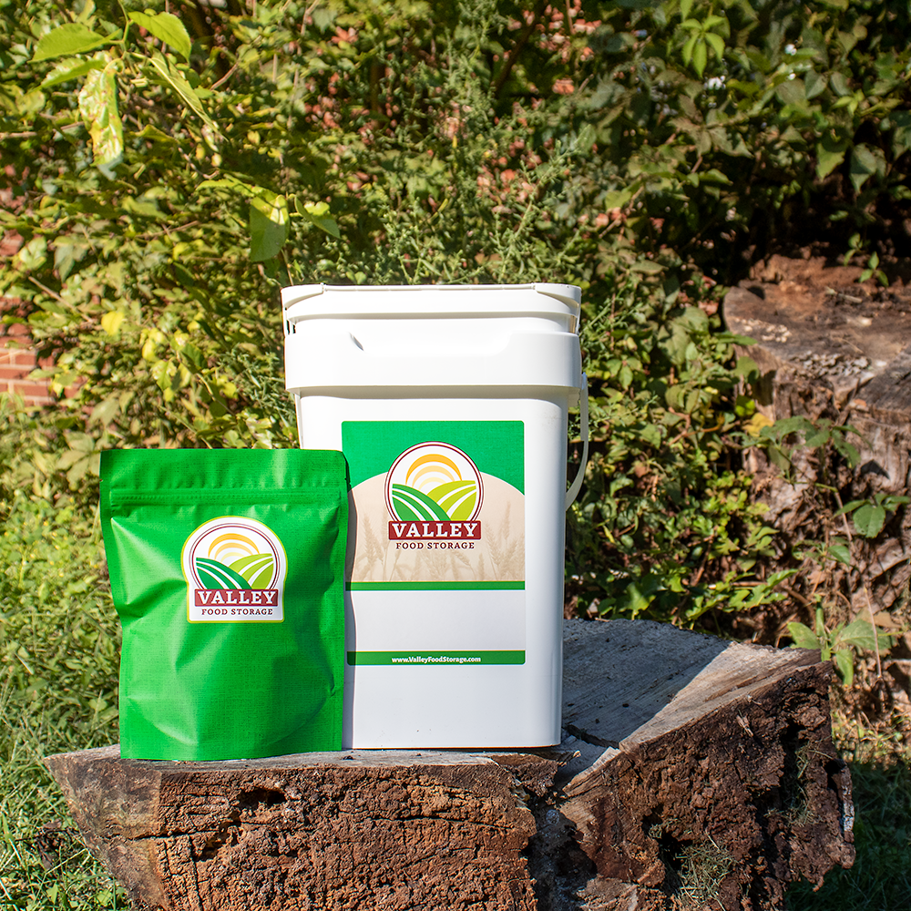 Valley Food Storage Long Term Bucket and Bag Product Image