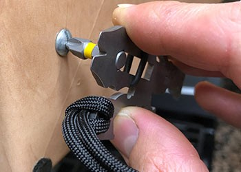 Pocket dragon screw driver function